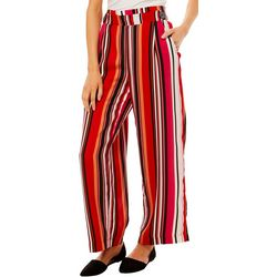 John Paul Richard Petite Mixed Stripe Pull On Pants