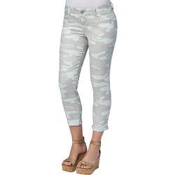 Democracy Petite Camo Roll Cuff Jeans