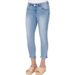 Democracy Petite  Low Rise Light Ankle Jeans