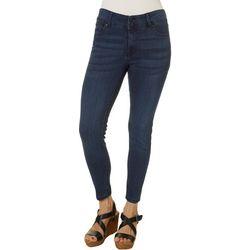 Celebrity Pink Petite Mid Rise Denim Ankle Jeans