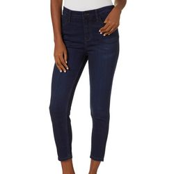 Celebrity Blues Petite Super Stretch Skinny Ankle Jeans