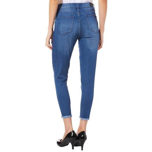 b4f992d230f Celebrity Blues Petite Infinite Stretch Ankle Jeans
