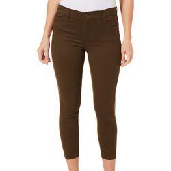 Workshop Petite Twill Skinny Crop Pants