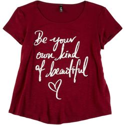 Ava James Petite Be Your Own Kind Of Beautiful Top