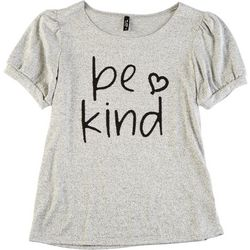Ava James Petite Be Kind Short Sleeve Top