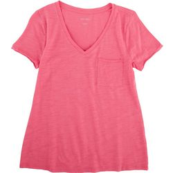 Dept 222 Petite V-Neck T-Shirt