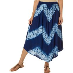 Studio West Petite Tie Dye Pull On Skirt