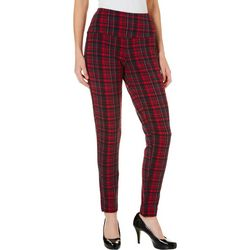 Khakis & Co Petite Suave Plaid Print Ankle Pants