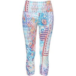 Khakis & Co Petite Patchwork Print Capri Leggings