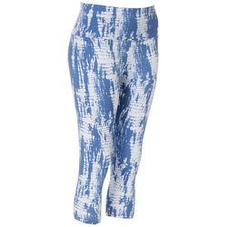 Khakis & Co Petite Graphic Print Capri Leggings