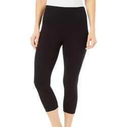 Khakis & Co Petite Suave Solid Flat Front Leggings