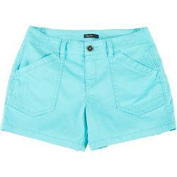 Union Bay Petite Alix Solid Shorts