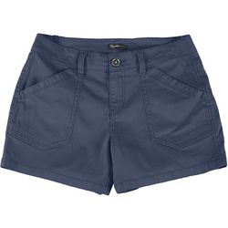 Union Bay Petite Alix Solid Shorts