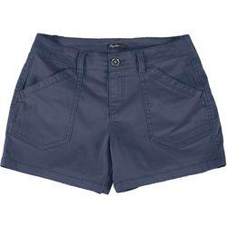 Petite Alix Solid Shorts