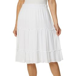 Hailey Lyn Petite Three Tiered Skirt