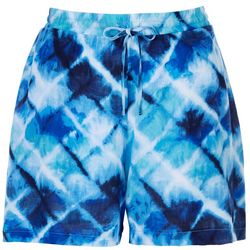 Hailey Lyn Petite Tye Dye Printd Shorts