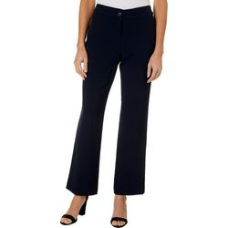 Briggs Petite Solid Relaxed Pants