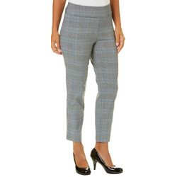 Counterparts Petite Plaid Pull-On Pants