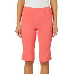 Counterparts Petite Embellished Hem Skimmer Shorts