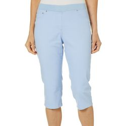 Hearts of Palm Petite Natural Wonders Clamdigger Capris