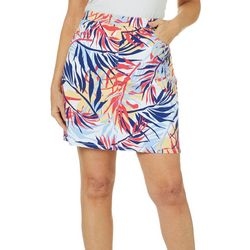 Hearts of Palm Petite Catch My Drift Birds Of Paradise Skort