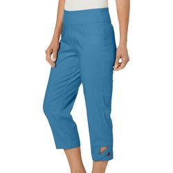 Hearts of Palm Petite Global Soul Tech Stretch Capris