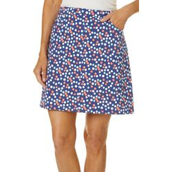 Hearts of Palm Petite Bright Ideas Tech Stretch Skort