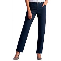 Lee Petite Relaxed Straight Leg Pants