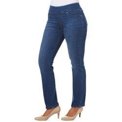 Lee Petite Pull On Slim Fitting Denim Jeans