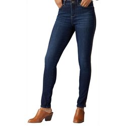 Lee Petite Solid Sculpting Piped Skinny Leg Jeans