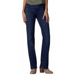 Lee Petite Flex Motion Solid Boot Cut Jeans