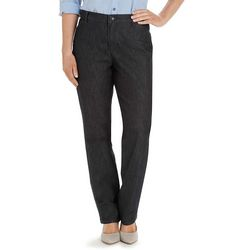 Lee Petite Relaxed Fit Plain Front Pants