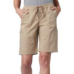 Lee Petite Flex Pull On Cargo Shorts