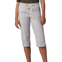 Lee Petite Flex-To-Go Solid Relaxed Fit Pull On Capris