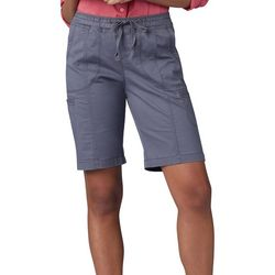 Lee Petite Pull On Flex Cargo Bermuda Shorts