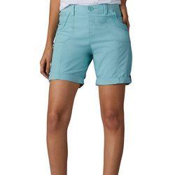 Lee Petite Melody Solid Bermuda Shorts
