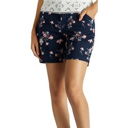 Lee Petite Floral Print Chino Shorts
