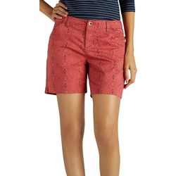 Lee Petite Essential Floral Chino Shorts