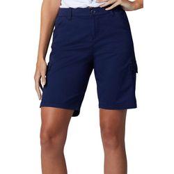 Lee Petite Cargo Bermuda Shorts