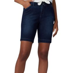 Lee Petite Regular Fit Mid Rise Denim Chino Shorts