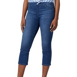 Lee Petite Sculpting Pull On Denim Capris