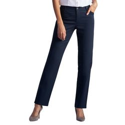 Lee Petite Relaxed Fit Straight Leg Pants