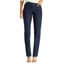 Lee Petite Instantly Slim Straight Jeans