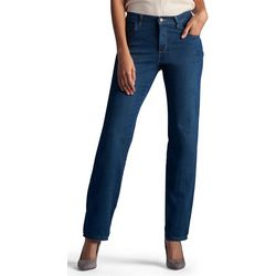 Lee Petite Denim Relaxed Straight Leg Jeans