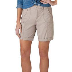 Lee Petite Melody Tab Hem Bermuda Shorts