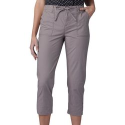 Lee Petite Solid Utility Pull On Capris