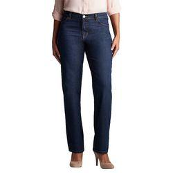 d5670f36 Lee Petite Denim Relaxed Straight Leg Jeans