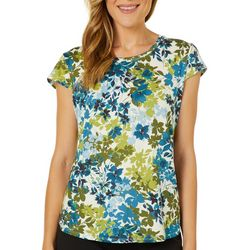 Nue Options Petite Day To Night Floral Print