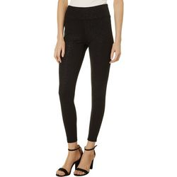 Nue Options Petite Solid Shimmer Pull On Pants