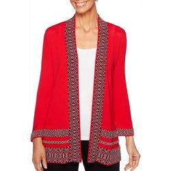 Ruby Road Favorites Petite Open Front Cardigan